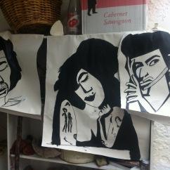 Jimi, Amy & George